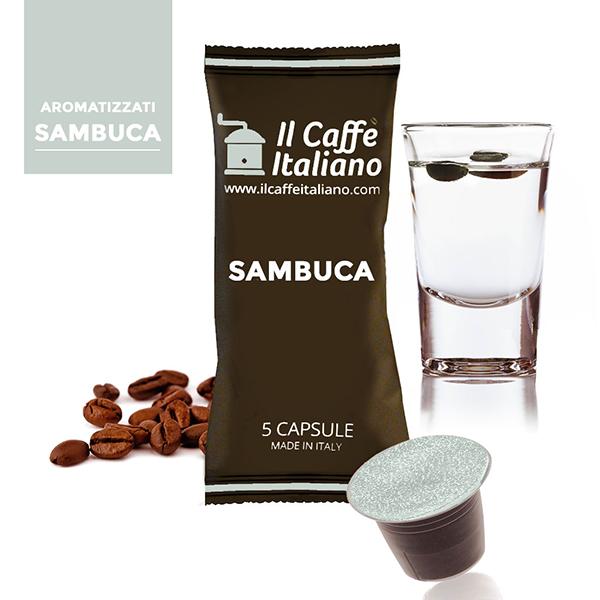 Sambuca Compatibile Nespresso - Unit 50 / 0.329 Fr.