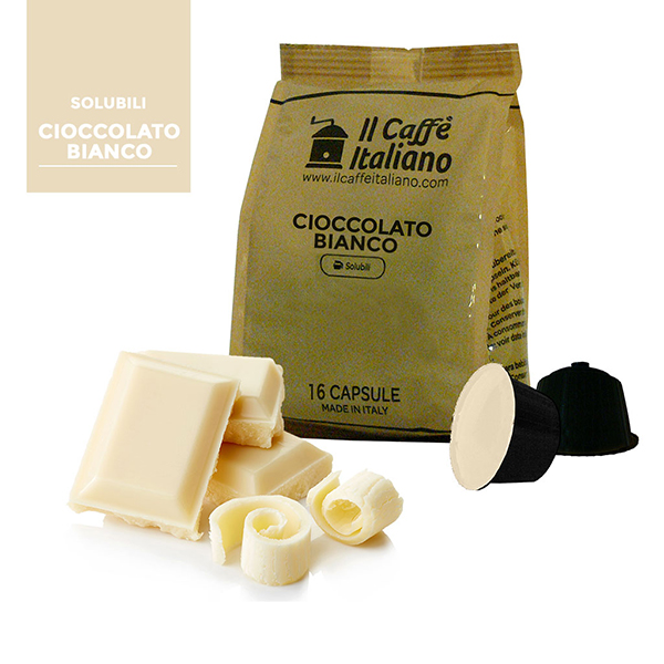 Cioccolato Bianco Compatibile Dolce Gusto - Unit 96 / 0.339 Fr.